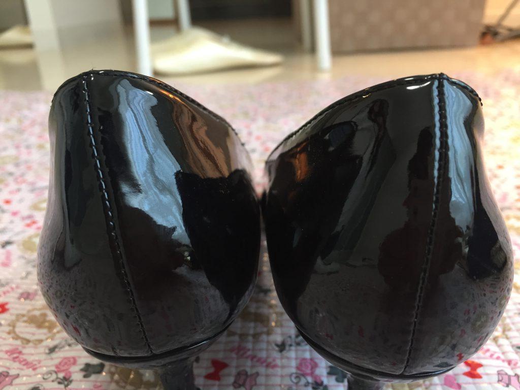 靴の高さが違う|サロン美足