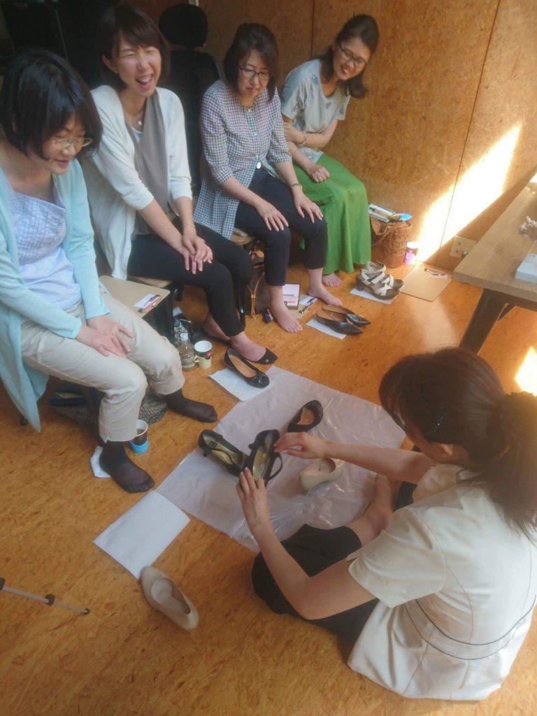 足と靴セミナー/サロン美足
