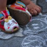 幼児ベルクロ靴