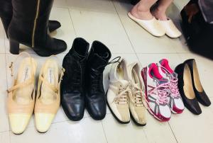 日常靴の確認/サロン美足