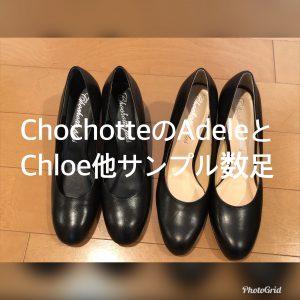 ショショットの試着靴/サロン美足